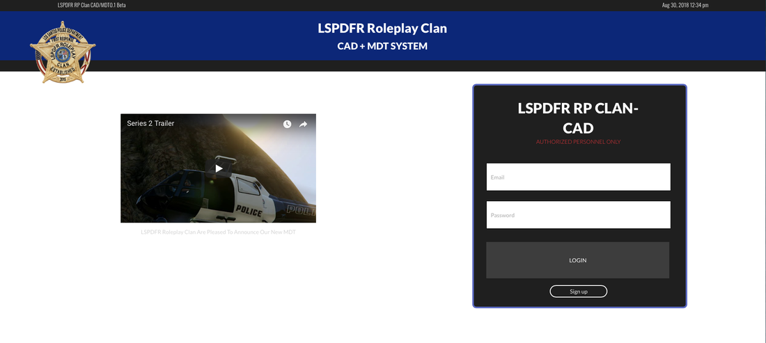 LSPDFR ROLEPLAY CLAN - Home